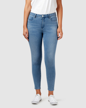 Jeanswest Freeform 360 Contour Curve Embracer Skinny 7/8 Jeans