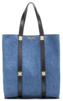 Miu Miu Denim shopper bag