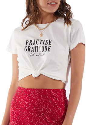 All About Eve Practise Gratitude Tee