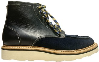 DSQUARED2 Blue Leather Boots