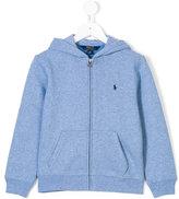 Ralph Lauren logo zip hoodie