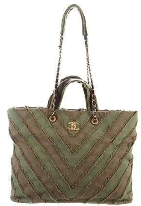 4f4ab5bb3ee9 Chanel Canvas Bag - ShopStyle