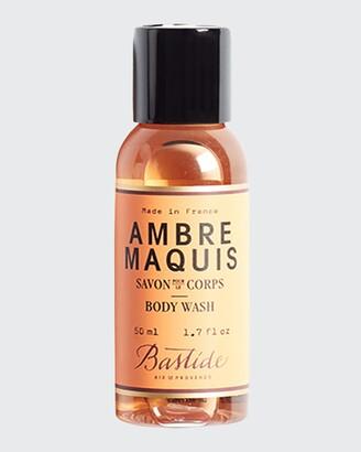 Bastide Ambre Maquis Body Wash, 1.7 oz./ 50 mL
