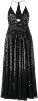 Racil - sequinned halterneck dress - women - Polyester/Viscose - 38