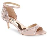 Badgley Mischka Women's 'Gillian' Crystal Embellished D'Orsay Sandal