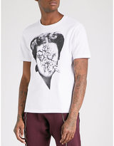 Undercover Face With Cupid-print Cotton-jersey T-shirt
