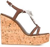 Giuseppe Zanotti Design embellished wedge sandals