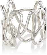 Repossi Women's White Gold White Noise Ring-SILVER