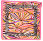 Missoni Multicolor Printed Pocket Square