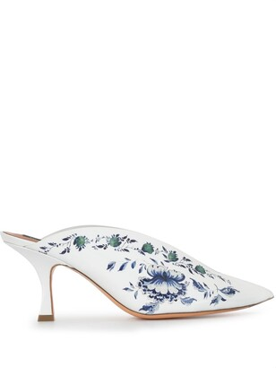 Y/Project Floral Print Mules