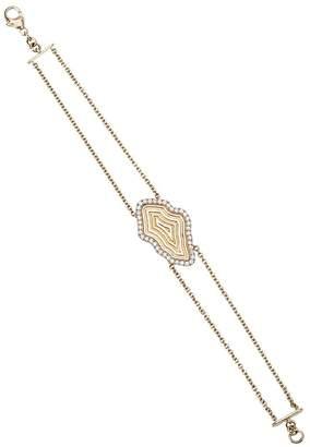 Kimberly Mcdonald double chain Medallion bracelet