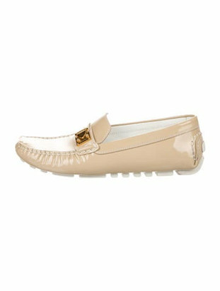 Louis Vuitton Patent Leather Loafers