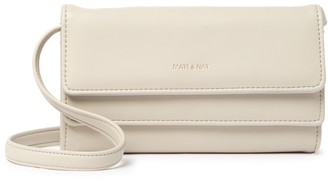 Matt & Nat May Vegan Leather Foldover Wallet Crossbody Bag