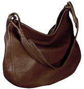 Derek Alexander Yukon Leather Hobo Shoulder Bag