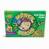 Kohl's Money Bags Coin Value Game by Learning Resources