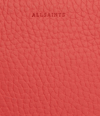 AllSaints Fetch Leather Chain Wallet Crossbody Bag