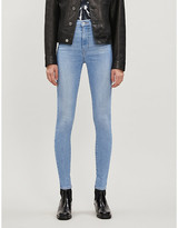 Levi's Mile High high-rise super-skinny jeans