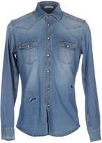 Paolo Pecora Denim shirts - Item 42582435