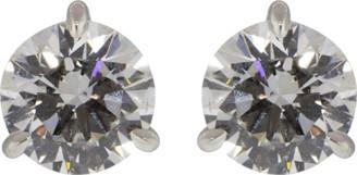 Kwiat Round Diamond Stud Earrings