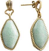 BIJOUX BAR Art Smith by BARSE Blue Amazonite Drop Earrings