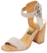 Dolce Vita Cindi Two-Piece Leather Sandal