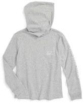 Vineyard Vines Heathered Whale Hoodie T-Shirt (Toddler Boys & Little Boys)