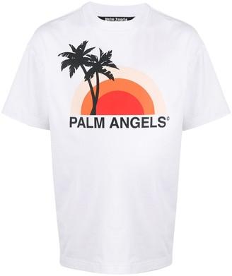Palm Angels Sunset graphic-print T-shirt