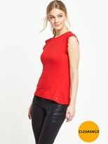 Ted Baker Scallop Detail Fitted Tee