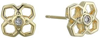 Kendra Scott Rue Stud Earrings (Gold Metal) Earring