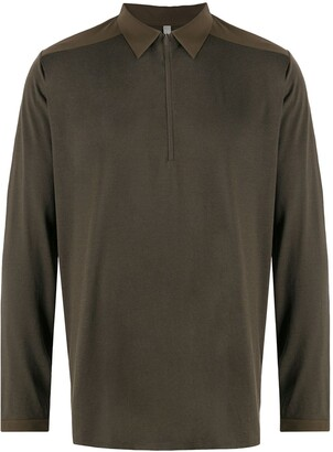 Veilance Long Sleeved Polo Shirt