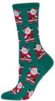Hot Sox Waving Santa Socks