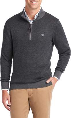 Vineyard Vines Hamilton Half Zip Sweater