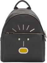 Fendi Grey New Monster Backpack