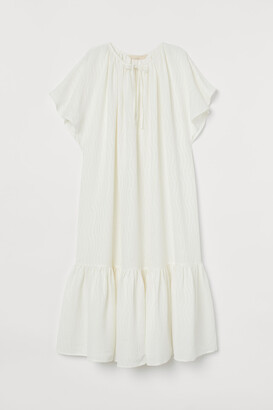 H&M Silk-blend Dress
