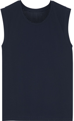 The Upside Vinyl Perforated Stretch Tank