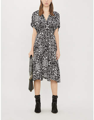 The Kooples Floral-print woven dress