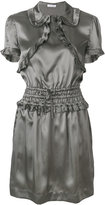 Tomas Maier frill detail dress