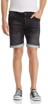 Jack and Jones JACK + JONES Icon Regular Fit Denim Shorts in Black