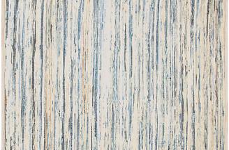 Dash & Albert Denim Rag Handwoven Rug - Blue 5'x8'