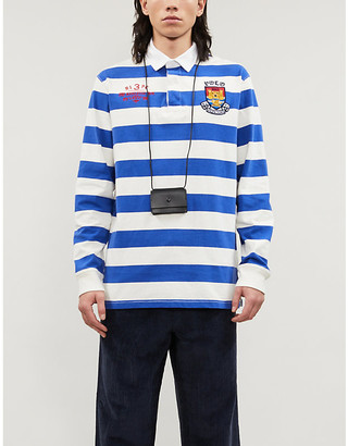 Polo Ralph Lauren Embroidered cotton-twill Rugby shirt