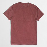 J.Crew Factory Slim heathered washed pocket T-shirt
