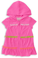 Flapdoodles Girls 2-6x French Terry Cover-Up