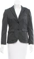 Rag & Bone Jacquard Button-Up Blazer
