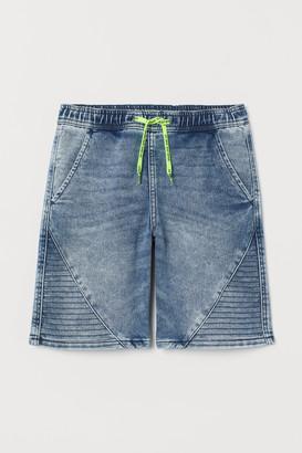 H&M Pull-on Denim Shorts
