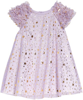 Pippa & Julie Kids' Star Print Float Dress