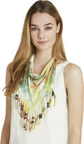 BCBGeneration Tie-Dyed Scarf - Blue