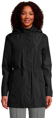 Lands' End Petite Hooded Insulated 3 in 1 Rain Parka