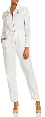 WeWoreWhat Belted Utility Jumpsuit