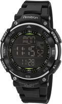Armitron Mens Black Digital Sport Watch