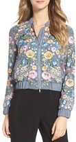 Needle & Thread Women's Embroidered Bomber Jacket